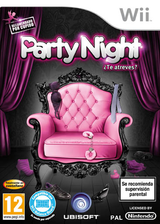 Party Night ¿Te Atreves? Wii cover (SLVP41)