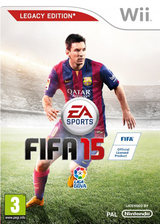 FIFA 15 - Legacy Edition Wii cover (SQVX69)