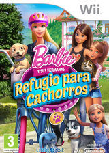 Barbie y sus hermanas: Refugio para cachorros Wii cover (SVQPVZ)