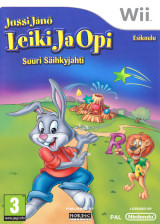 Jussi Jänö - Leiki Ja Opi: Esikoulu - Suuri Säihkyjahti Wii cover (SRLXNL)