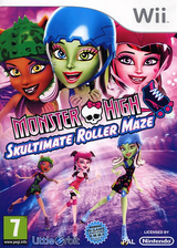 Monster High: Skultimate Roller Maze Wii cover (SU5PVZ)