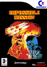 Impossible Mission pochette VC-C64 (C95P)