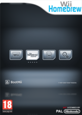 BootIOS pochette Homebrew (DBMA)
