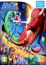 Space Harrier pochette VC-Arcade (E62P)