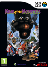 King of the Monsters pochette VC-NEOGEO (EAOP)