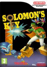 Solomon's Key pochette VC-NES (FAOP)