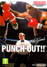 Punch-Out!! pochette VC-NES (FBIP)