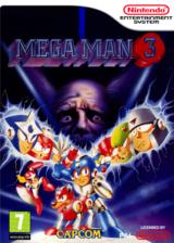 Mega Man 3 pochette VC-NES (FD7P)
