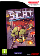 S.C.A.T.: Special Cybernetic Attack Team pochette VC-NES (FFVP)