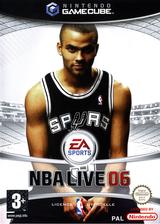 NBA Live 06 pochette GameCube (G6NP69)