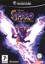 The Legend of Spyro: A New Beginning pochette GameCube (G6SP7D)