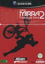 Dave Mirra Freestyle BMX 2 pochette GameCube (GBXP51)