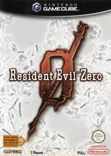 Resident Evil Zero pochette GameCube (GBZP08)