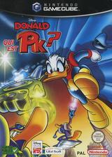 Disney's Donald Qui est PK ? pochette GameCube (GDOP41)