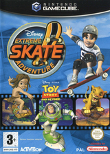 Disney's Extreme Skate Adventure pochette GameCube (GEXX52)