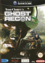 Tom Clancy's Ghost Recon pochette GameCube (GGRP41)