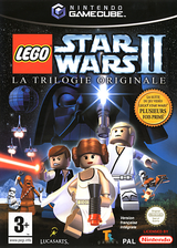 Lego Star Wars II:La Trilogie Originale pochette GameCube (GL7P64)