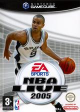 NBA Live 2005 pochette GameCube (GLYP69)