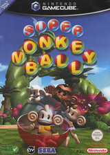 Super Monkey Ball pochette GameCube (GMBP8P)