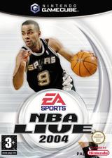NBA Live 2004 pochette GameCube (GN8P69)