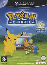 Pokémon Channel pochette GameCube (GPAP01)