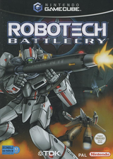 Robotech:Battlecry pochette GameCube (GRBP6S)