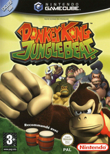Donkey Kong Jungle Beat pochette GameCube (GYBP01)