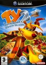 Ty:Le Tigre de Tasmanie 2:Opération Sauvetage pochette GameCube (GYTP69)