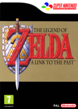 The Legend of Zelda : A Link to the Past pochette VC-SNES (JADD)