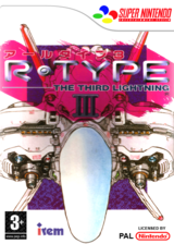 R-TYPE III : The Third Lightning pochette VC-SNES (JAHP)