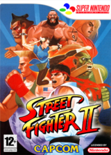 Street Fighter II:The World Warrior pochette VC-SNES (JAJP)