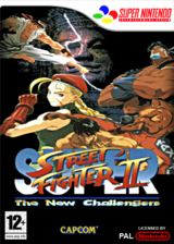 Super Street Fighter II : The New Challengers pochette VC-SNES (JBBP)