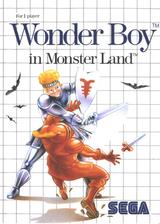 Wonder Boy in Monster Land pochette VC-SMS (LAKP)