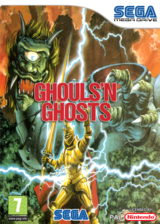 Ghouls'n Ghosts pochette VC-MD (MBJP)