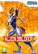 Alien Soldier pochette VC-MD (MBTP)