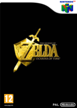 The Legend of Zelda : Ocarina of Time pochette VC-N64 (NACP)