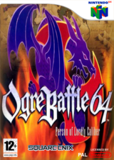 Ogre Battle 64: Person of Lordly Caliber pochette VC-N64 (NAYM)