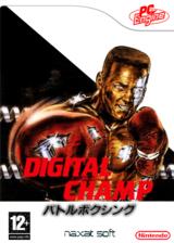 Digital Champ : Battle Boxing pochette VC-PCE (PCSL)