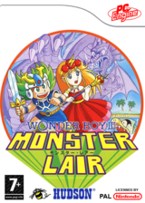 Monster Lair pochette VC-PCE (QAUP)