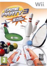 Game Party 3 pochette Wii (R3EPWR)