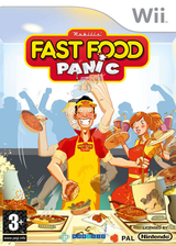 Fast Food Panic pochette Wii (R8FPNP)