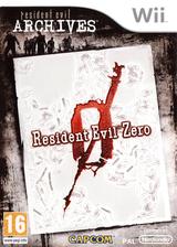 Resident Evil Archives : Resident Evil Zero pochette Wii (RBHP08)