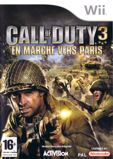 Call of Duty 3:En Marche vers Paris pochette Wii (RCDP52)