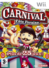 Carnival:Fête Foraine pochette Wii (RCGP54)