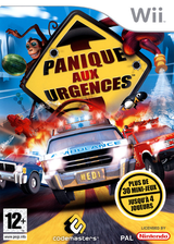 Panique Aux Urgences pochette Wii (REGP36)