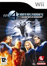 Les 4 Fantastiques et le Surfer d'Argent pochette Wii (RF2P54)