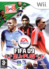 FIFA 09 All-Play pochette Wii (RF9Y69)