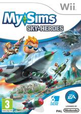MySims Sky Heroes pochette Wii (RJ6P69)