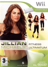 Jillian Michaels Fitness Ultimatum 2009 pochette Wii (RJFPKM)