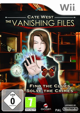 Cate West : The Vanishing Files pochette Wii (RKEPGN)